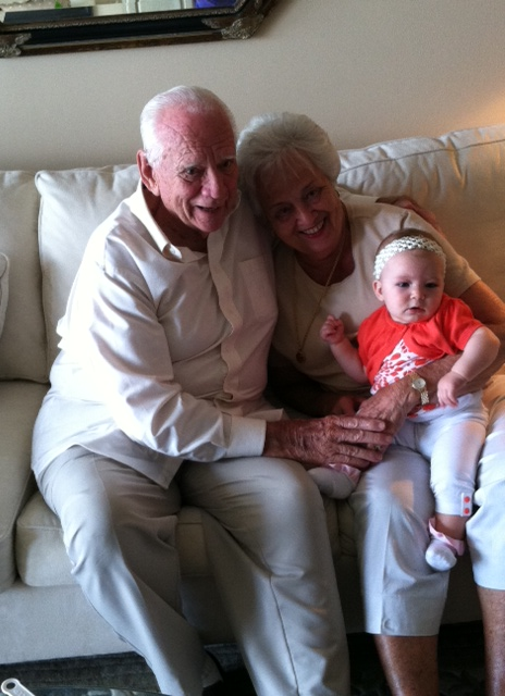 Leah met her great-great aunt and uncle!